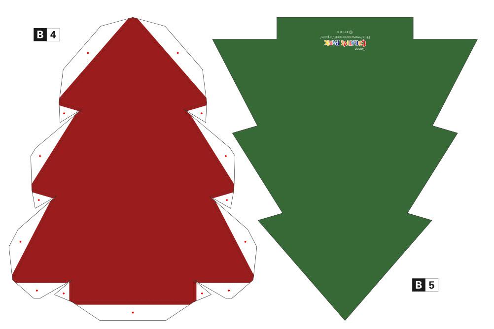 форма открытки треугольник самом деле