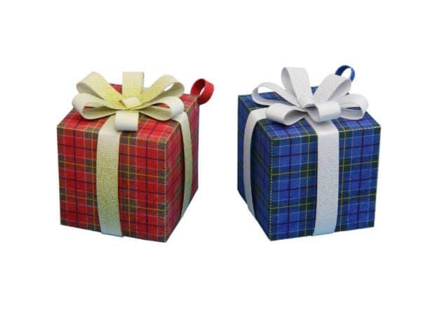 Коробка для подарков из бумаги