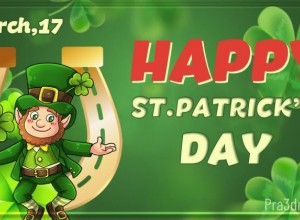 17 march st. patrick's day