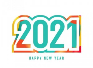New year 2021