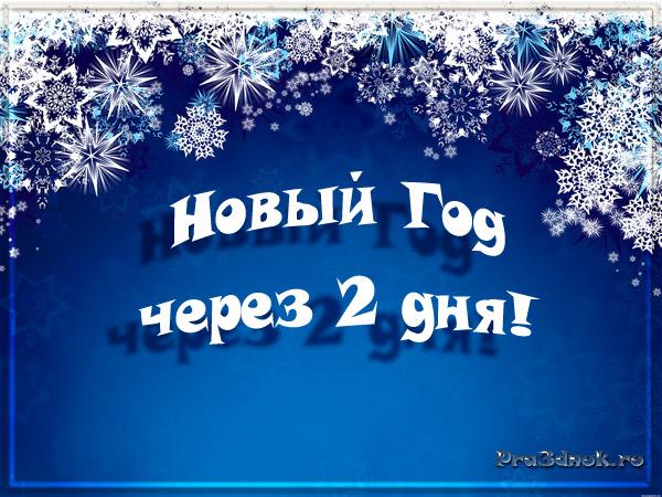 Новый год через 2 дня