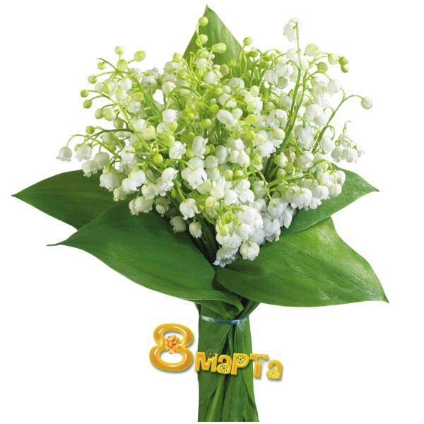К 8 марта цветы поздравления открытки