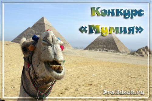 конкурс мумия