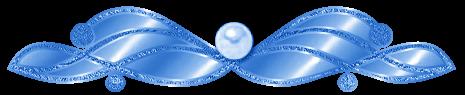 разделитель синий пнг