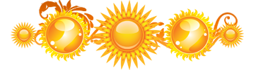 разделитель солнышко
